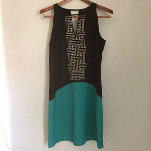 NWT THML Colorblock Boho Dress sz S